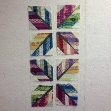 Free Tutorial - Leaf / Feather Quilt Block by Julie