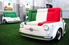 Fiat 500 Design collection sofa