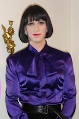 The colour purple and this transgender woman looks perfect in it #Transgender