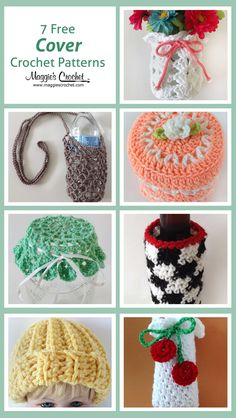 Seven Free Covers Crochet Patterns
