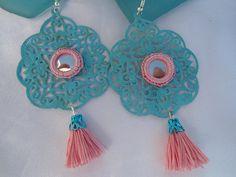SALE  GYPSY PRINCESS Earrings Bollywood Style by Nezihe1 on Etsy, $14.99