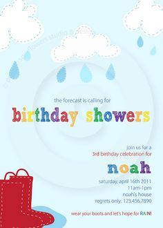 April Showers Party