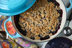 Blueberry Crisp - PaleOMG