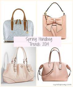 Spring Handbag Trends 2014