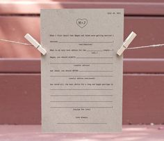 Wedding Stationery ♥