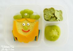 Kitchen Fun With My 3 Sons: Lucky Leprechaun Bento Lunch