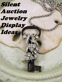 Silent Auction Jewelry Display Ideas - One of the most important silent auction ideas is to display your items properly so they'll attract top bids. The more expensive the auction item, the greater the need for an eye-catching and attractive display.