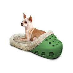 Sasquatch Bed Green  (for kitty, cuz Phin's too big lol)