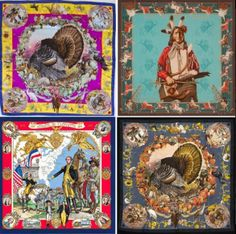 Kermit Oliver - Painter and Hermes' only American scarf designer