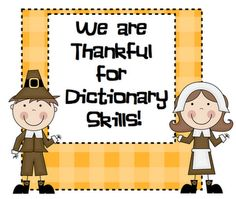 LA - Dictionary - Thankful for Dictionary Skills! -- Pitner's Potpourri   # Pinterest++ for iPad #