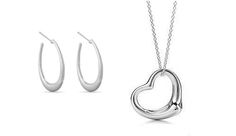 Free Surprise - Receive a Free Silver Plated Heart Pendant or Silver Plated Hoop Earrings!