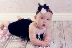 pearl, babi 33, baby fever, headband, outfit