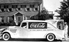 Coca Cola Fountain Car, 1930's