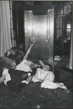 Tod Papageorge. New Years Eve at Studio 54. 1978