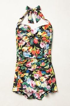Floral maillot goodness