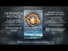 DIVERGENT by Veronica Roth - Book Trailer .