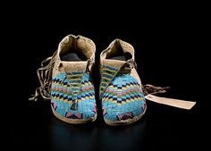 Sioux Beaded Moccasins - Cowan's Auctions