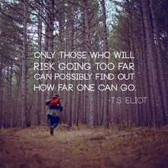 risk, eliot, quotes, wisdom, thought