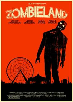 Zombieland vintage style 5X7 print. $8.00, via Etsy.