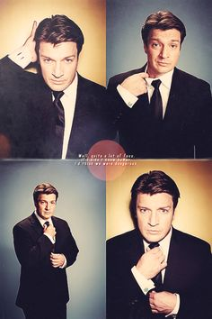 Nathan Fillion is just plain too cute.
