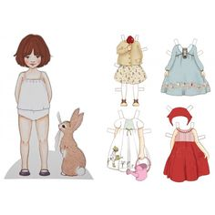 Large Dress Up Belle now with 4 new outfits!