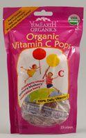 Yummy Earth Organic Vitamin C Pops
