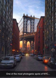 NYC Like In A Movie Scene
