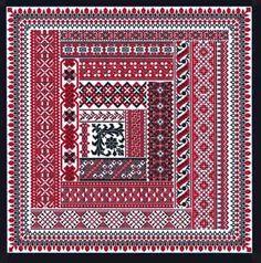 Spanish sampler .. different but nice ;-) graph pattern, jewelryembroideri patern, stitch border, needleworkcross stitch, spanish flair