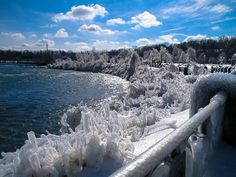 Niagara River. Winter. by Andy Zav on 500px