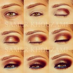 nail, fashion styles, makeup, beauti, eye liner, samer khouzami, hair, blues, eyeshadow looks