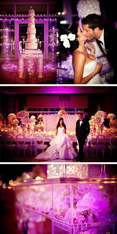 the WOW factor wedding!! Gorgeous head table / cake / bride & groom