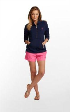 Skipper Popover Solid in True Navy $118 (w/o 6/17/12) #lillypulitzer #fashion #style