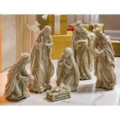 Religious Holiday Collectible Nativity Figurine Set