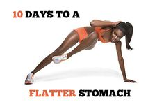 10 Days to a Flatter Stomach! #abs #workout #fitness