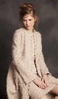 """Fall & Winter Fashion - Long """"Alabama Fur"""" Coat by Alabama Chanin"""
