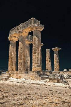 ✮ Temple of Apollo, Greece