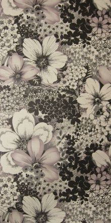vintage floral wallpaper