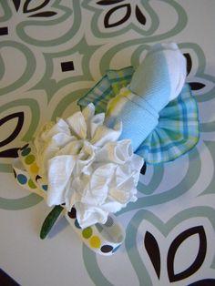 Baby Sock #Corsage #diy #idea