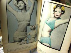 vintage #crochet swimsuits