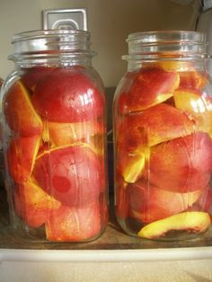 canning nectarines