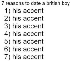 oh and his accent.