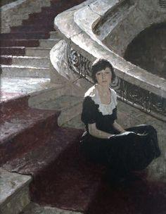 Dean Cornwell, Waiting, 1920