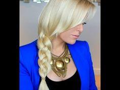 Four Strand Braid Tutorial ---another beautiful braid!