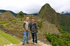 Tom Bridegroom & Shane Bitney Crone in Peru - See more: https://www.facebook.com/photo.php?fbid=473223332758490&set=pb.115224061891754.-2207520000.1384900877.&type=3&theater