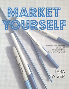 Market Yourself: a marketing system for smart + creative businesses.