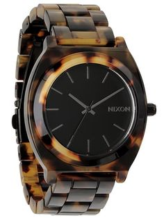 Nixon Time Teller Acetate - Tortoise watch