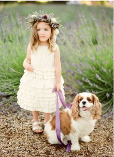 7 flower girl ideas and trends //// {Photo by: KT Merry Photography}