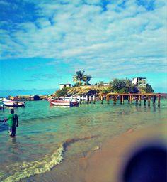Playa Caracolito. Higuerote, Venezuela
