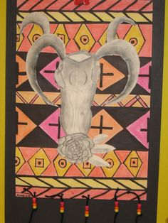 Jamestown Elementary Art Blog: 5th Grade Georgia O'keeffe and Native American Textiles