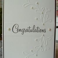 Item #3569 · Congratulations · Heart Prints